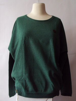 Naketano Oversized Sweater forest green