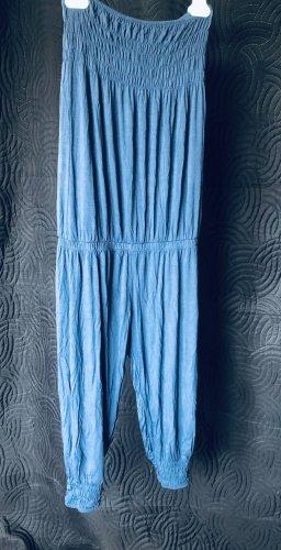 Kombinezon stalowy niebieski