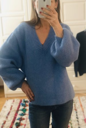 Cooler Oversized Pullover aus Wolle & Mohair Mix