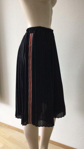 Zara Plisowana spódnica Wielokolorowy
