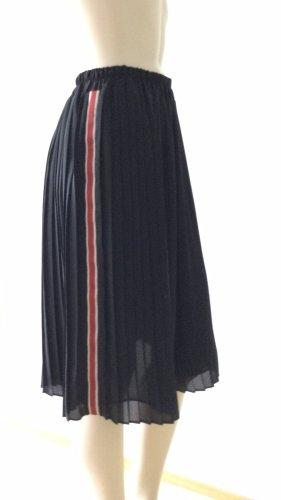 Zara Falda plisada multicolor