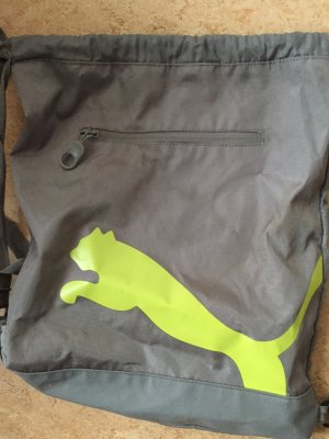 Puma Sports Bag grey-lime-green