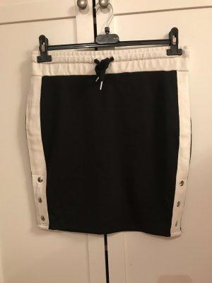 Pencil Skirt black-white