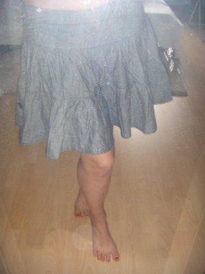 Roxy Minigonna grigio-antracite Cotone