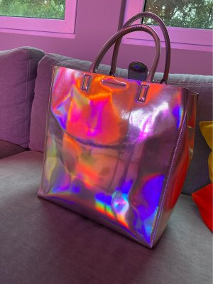 Cooler Shopper Hologramm Silber Banana Republic