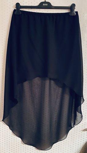 Ann Christine Jupe asymétrique noir polyester
