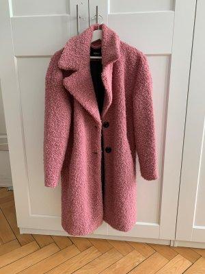 Cooler Teddy-Mantel (rosa)