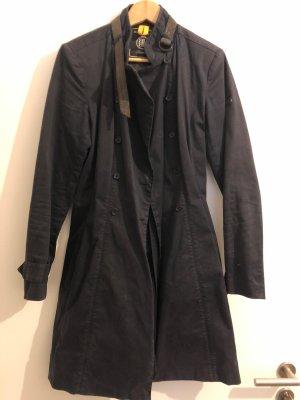 Blonde No. 8 Trenchcoat bleu foncé