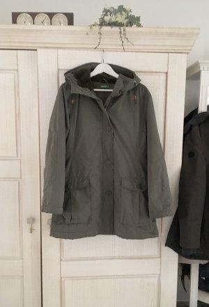 Benetton Manteau à capuche kaki
