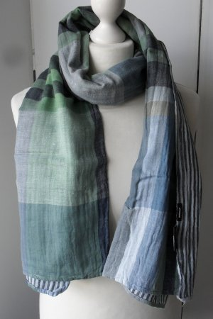 cooler Walbusch XL doubleface Schal wenig getragen