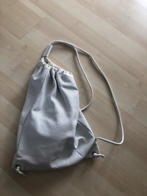every.day.counts Canvas Bag white leather