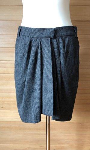 Isabel Marant Étoile Wraparound Skirt anthracite polyester