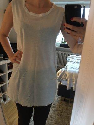 Cooles COS Longtop/Shirtkleid in weiß - Gr. S