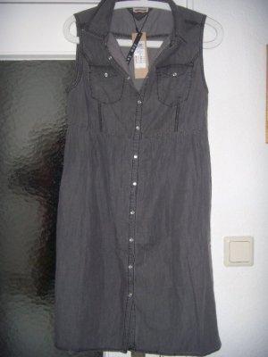 Cooles Denim Kleid, NEU mit Etikett/Shirt Dress/Jeanskleid, grau von Vero Moda