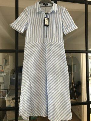 Daniel Hechter Midi Dress white-azure