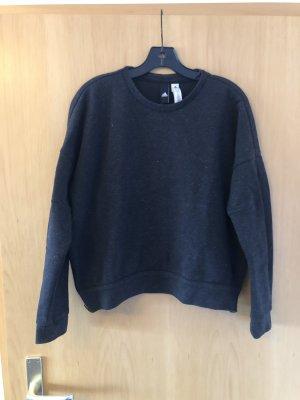 Adidas Sweatshirt zwart-donkergrijs