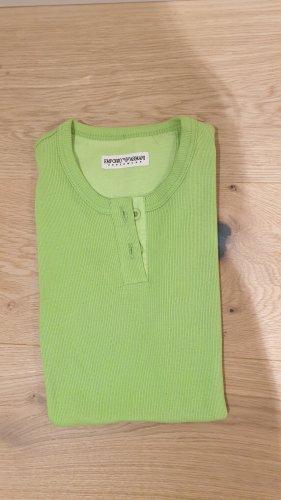 Cooles grünes T-Shirt von Emporio Armani in XS
