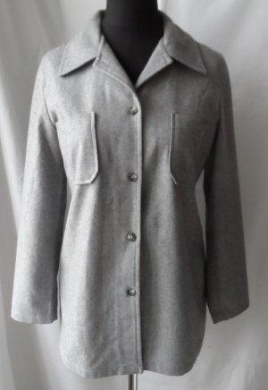 cooles Hemd aus Wolle von Miss H. Gr. 40 Grau