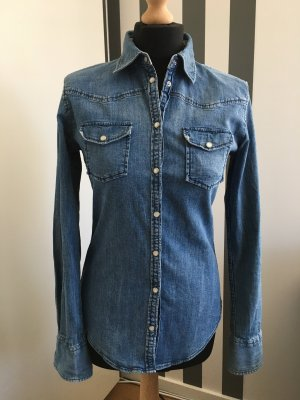 Marc O'Polo Blusa denim blu pallido
