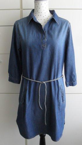 Vestido vaquero azul Algodón