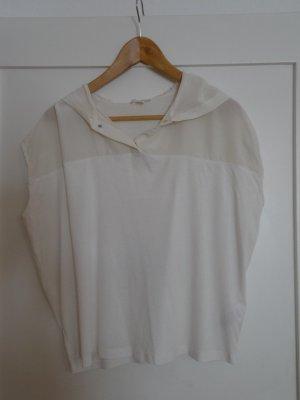 Cooles Kapuzen-T-Shirt aus Baumwolle und Seide