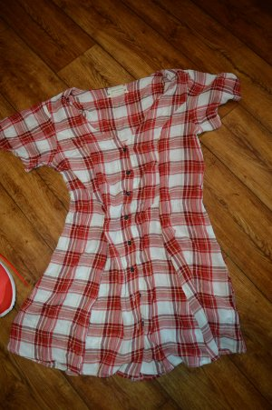 Urban Outfitters Shirtwaist dress red-white