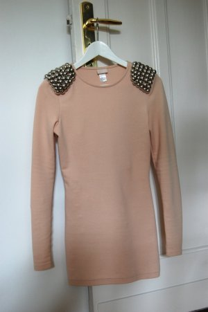 Cooles Kleid Nude, Silber H&M Trend Balmain-Style