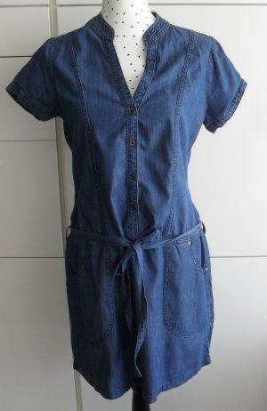 Jeansjurk blauw Katoen