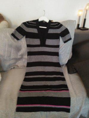 andere Marke Robe à manches courtes noir-gris
