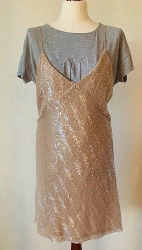 Cooles Pailletten Kleid Mini