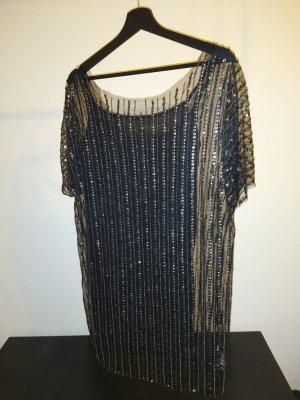 Cooles Pailletten Top/ Kleid