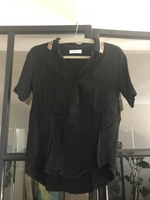Sandro Paris Polo Top black