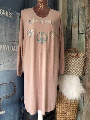 Made in Italy Vestido de lana multicolor