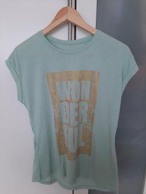 Charles Vögele T-shirt oro-verde-grigio
