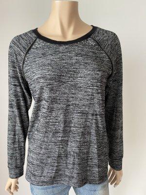 Gina Manga larga negro-gris