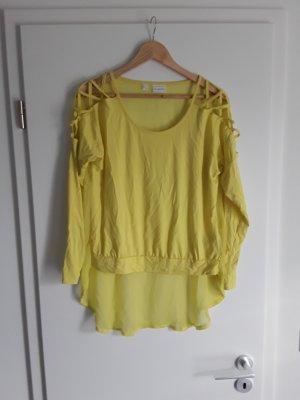 Rainbow Shirt yellow viscose