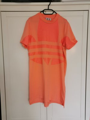Adidas Shirt Dress neon orange-apricot