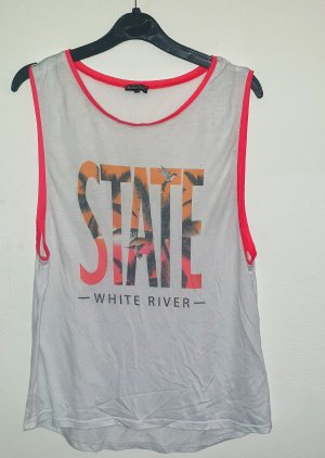 HM Ribbed Shirt white