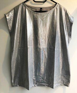 Cooles Shirt mit schimmerndem Effekt auf der Vorderseite - Gr. L/XL