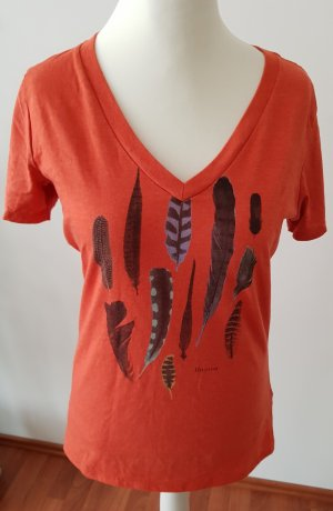 Burton T-shirt arancione-arancione scuro