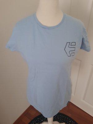 cooles shirt von etnies gr.l hellblau