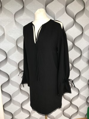 All Saints Hippie Dress black cotton