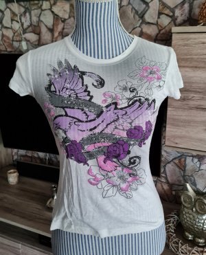Cooles Strass T-Shirt v. STACCATO Gr. S Top!