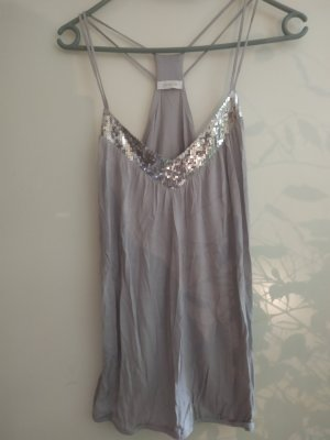 Pimkie Backless Top silver-colored-grey