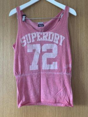Cooles Top von Superdry im Used-Look