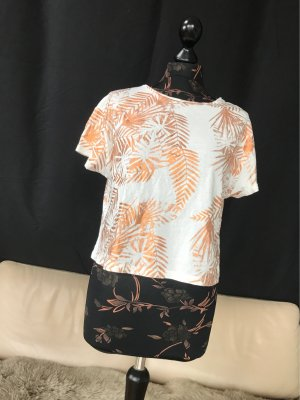 Cooles Tshirt von Lee in top Zustand mit metalic gold print palmen muster