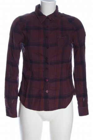 Coolwater Flannel Shirt red-black allover print casual look