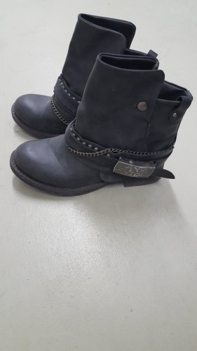 Coolway Botas moteras negro