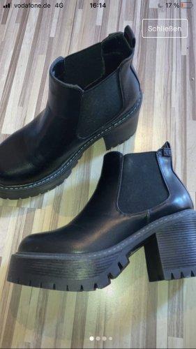 Coolway Wedge Booties black