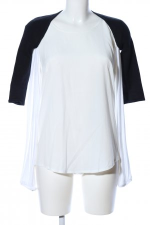 Cooperative Bolero weiß-schwarz Casual-Look